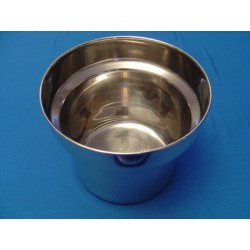 Round Bain Marie Pots and Lid